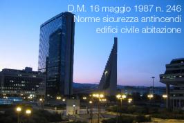 D.M. 16 maggio 1987 n. 246