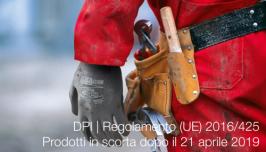 DPI Regolamento (UE) 2016/425: Prodotti in scorta dopo il 21 aprile 2019