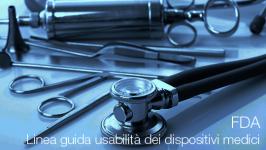 Linea guida sull'usabilità dei dispositivi medici FDA