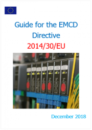 Guide for the EMCD | Directive 2014/30/EU - December 2018