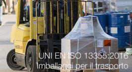 UNI EN ISO 13355:2016 | Imballaggi per il trasporto