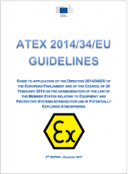 Linee guida Nuova Direttiva ATEX 2014/34/EU | Dicembre 2017
