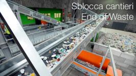 Sblocca cantieri | End of Waste Riforma autorizzazioni