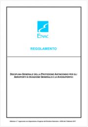 Regolamento antincendio ENAC