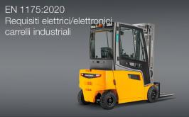 EN 1175:2020 | Requisiti elettrici/elettronici carrelli industriali
