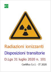 Radiazioni ionizzanti | Disposizioni transitorie D.lgs 101/2020