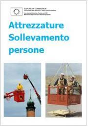 Direttiva macchine: attrezzature sollevamento di persone - Documento ufficiale