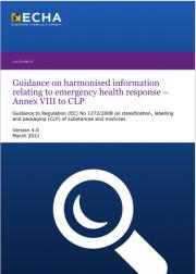 Guidance ECHA Annex VIII to CLP | Version 4.0 March 2021