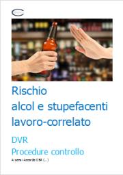 Rischio alcol e stupefacenti: DVR e Procedura controllo