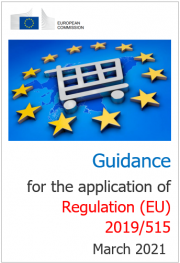 Guidance for the application of Regulation (EU) 2019/515