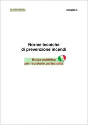 Bozza di revisione della RTO del Codice di prevenzione incendi