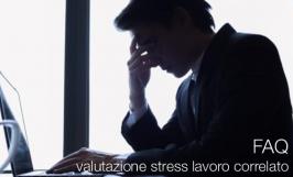 FAQ valutazione stress lavoro correlato