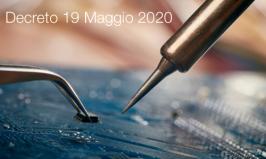 Decreto 19 Maggio 2020