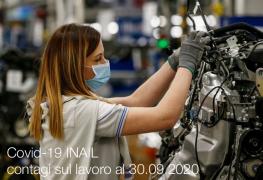 Covid-19   Contagi sul lavoro denunciati all'INAIL: Schede regionali 30 Settembre 2020