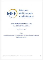 MEF 2020 | Superbonus 110% FAQ