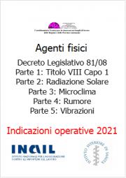 Indicazioni operative rischio agenti fisici ISS/INAIL 2021