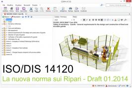 La nuova norma sui ripari ISO 14120: Testo requisiti
