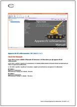Check list Manuali Apparecchi sollevamento Rev. 01.2013