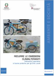 ISPRA Quaderni 20/2019 | Ridurre le emissioni climalteranti
