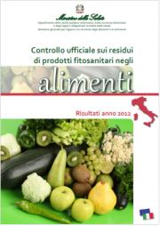 Relazioni annuali controlli residui fitosanitari alimenti