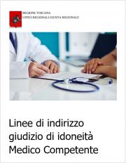 Linee di indirizzo giudizio di idoneità Medico Competente