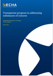 III Rapporto ECHA sulla strategia di regolamentazione integrata 2020