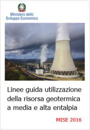 Linee guida uso risorsa geotermica a media e alta entalpia