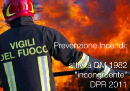 Prevenzione Incendi: attività DM 1982