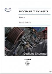 Procedure di sicurezza attività e macchine