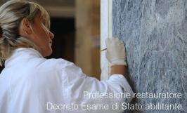 Qualifica restauratore: Decreto Esame di Stato abilitante