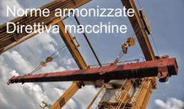 Norme armonizzate Direttiva macchine Luglio 2014