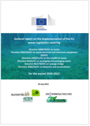 Report on the implementation of the EU waste legislation covering