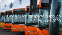 Linee guida trasporto pubblico 31 Agosto 2020