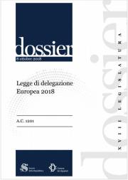 Legge di delegazione Europea 2018 | Update 11.2018