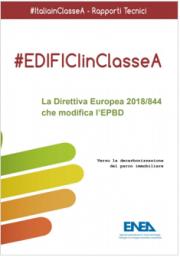 ENEA 2018 | Direttiva Europea 2018/844 che modifica l'EPBD