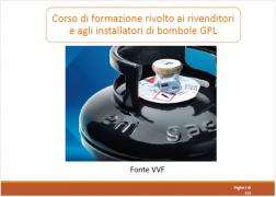 Formazione rivenditori ed installatori bombole GPL | Slide VVF