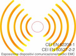 CEI EN 62209-1 e CEI EN 50527-2-2: Esposizione dispositivi comunicazione/medici EMC