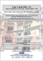 Testo Unico Sicurezza D. Lgs 81/2008 - 06.2016