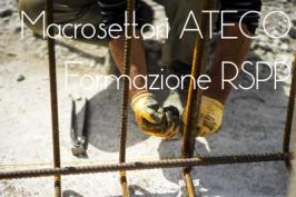 Macrosettori ATECO e moduli di formazione RSPP