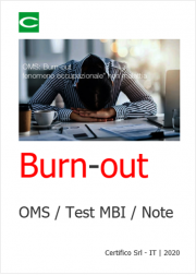 Burn-out: OMS / Test MBI / Note