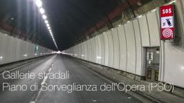 Gallerie stradali: Piano di Sorveglianza dell'Opera