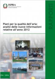 Piani qualità aria: informazioni 2012