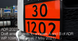 ADR 2023: Draft amendments to annexes A and B | WP 109th Sess. May 2021