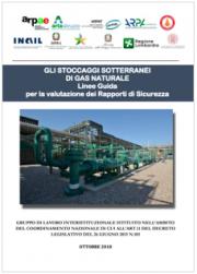 Linee Guida Rapporti di Sicurezza stoccaggi sotterranei gas naturale