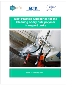 Best pratice for cleaning of dry bulk polymer transport tanks
