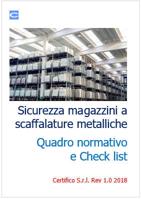 Scaffalature Metalliche Misure Standard.Sicurezza Magazzini A Scaffalature Metalliche Quadro Normativo E