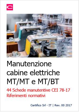 manutenzione cabine elettriche mt-mt e mt-bt (cei 78-17) - certifico srl
