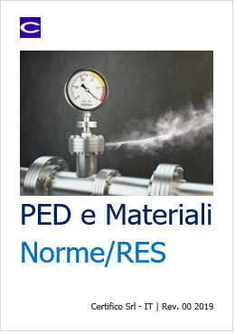 PED Materiali Norme RES