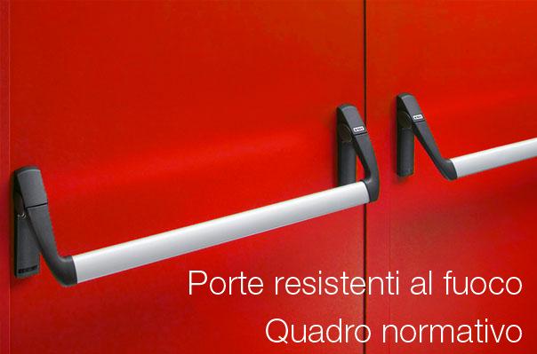 Dimensioni Porte Interne Normativa.Porte Antincendio Quadro Normativo Certifico Srl