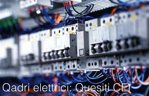 Schemi Quadri Elettrici Industriali : Quadri elettrici: quesiti ufficiali cei certifico srl